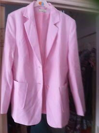 Size 16 pink summer jacket