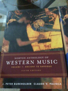 Three books of western music and two 6 compact discs