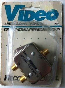 Video Antenna Cable TV Switch Recoton - NEW