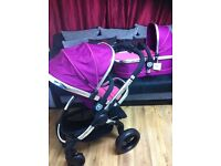 Icandy peach3 fuschia main chassis, main seat, carrycot, carseat, imac condition, Quick sale!!