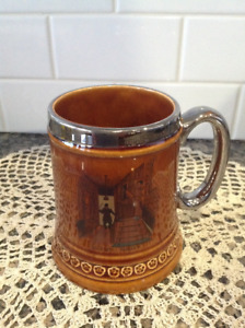 Vintage Beer Stein - Silent Night