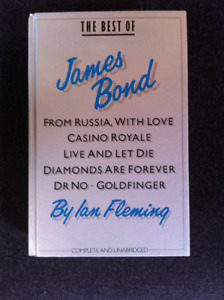 The Best of James Bond hardcover book(s) + Clancy,Straub,Koontz