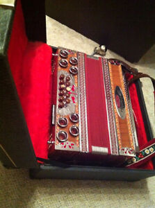 Melodya Menges Button Accordion