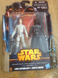 STAR WARS MISSION SERIES : BESPIN - LUKE SKYWALKER DARTH VADER