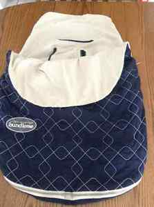 JJ Cole Bundleme Lite - Navy for Infant