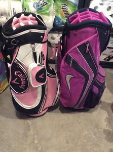 2 NEW Ladies Cart Golf Bags Callaway Nike