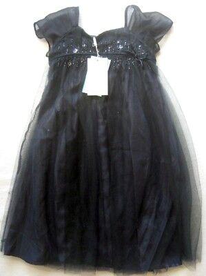 d / Dunkelblau (Navy) / Gr. 4-5 Jahre / NEU (Navy Kleid Mädchen)