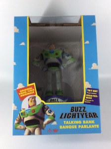 1995  Original Toy Story's Buzz Lightyear Talking Bank