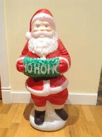 Père Noel extérieur (éclairage)