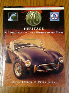 AC HERITAGE - 90 Years, From the three wheeler to the Cobra
