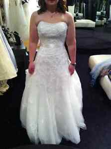 Sophia Tolli Wedding Dress-  strapless, Excellent Condition!!