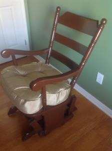chaise berçante à vendre