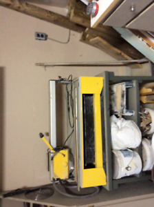 Woodworking saws tile cutter etc