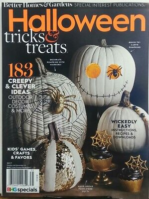 Better Homes & Gardens Halloween 2017 Tricks & Treats Ideas FREE SHIPPING sb - Better Homes And Gardens Halloween 2017
