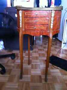 2 antique coffee tables
