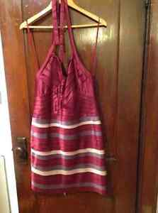BCBG Halter Tiered Dress - Size 12