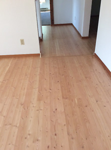 """Fir Flooring 1"""" x 4"""" sufficient for a Tiny home or small bedroom"""