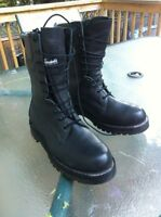 Black Leather Gore-tex Boots size 9