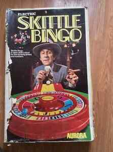 Vintage Skittle Bingo Game