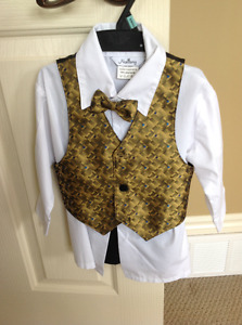 Boys 4 piece suit