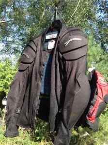 vestes de protection pour moto