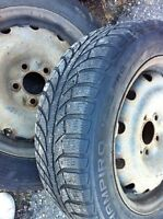 2, 205/60R16 Ice Pro studded Tires