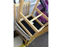2 very nice strong and sturdy chairs