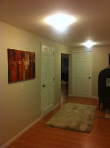 1 Bedroom Partially furnished In-law Suite