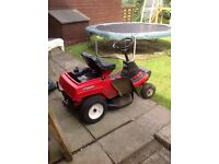 Lawnmower ride on