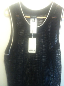VERSACE NBA TEE MENS BOYS  BRAND NEW $95.00