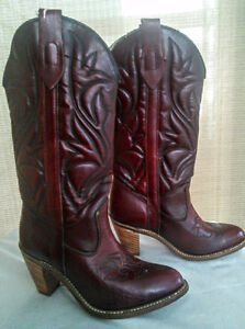 Cowgirl Boots sz 5.5 Red