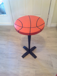 Unique Basketball Side Table