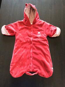 Fleece Snowsuit - Size: Newborn - 6 months