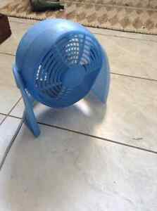 Blue Desktop Fan