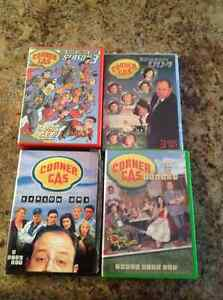 Corner Gas DVDs Season 1-4