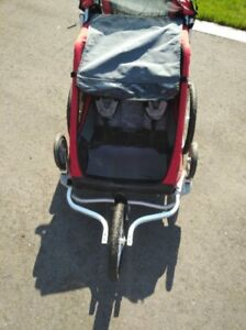 Chariot Cougar 2 Bike trailer and running stroller $650 o.b.o.