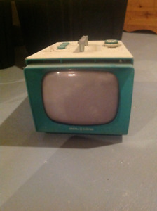 "Vintage, 1950s, GE ""portable"" TV, model"