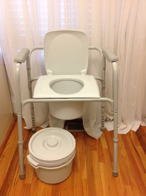 Commode Chair (adjustable) - $60 | Health & Special Needs | City of ...
