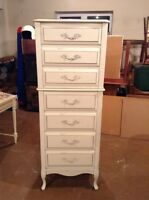 7 Drawer tall dresser - free delivery