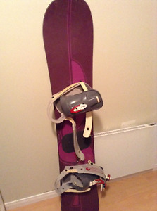 Burton 149cm and boots size 10