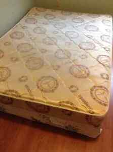 double mattress and boxspring free delivery