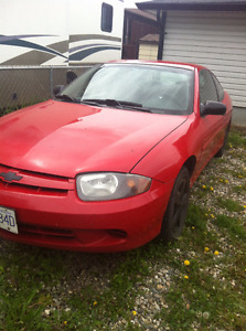 2004 Chevrolet Cavalier Coupe (2 door) runs great and low price