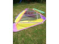 Fanatic hot cam windsurf sail