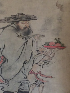 Important Chinese Painting on Paper, Artist Signed.