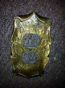 Vintage outlet plate cover