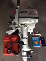 MINT CONDITION FIVE HONDA OUTBOARD MOTOR