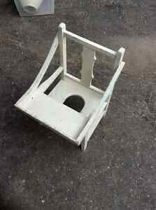 Vintage Child's Potty chair c/w tray