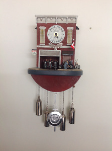 Motorcycle clock - Limited Edition Bradford Exchange