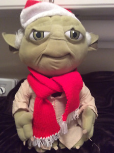 Christmas Star Wars Plush Yoda
