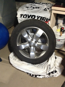 toyo winter tires and rims
